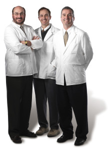 The three Haas brothers from Haas Orthodontic Arts in Stow, Cuyahoga Falls, Akron, and Green