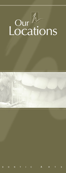 Locations Brochure from Haas Orthodontic Arts